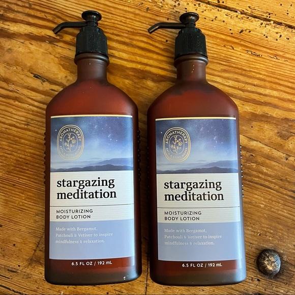 Bath & Body Works Stargazing Meditation 2 pc set